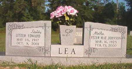 JOHNSON LEA, ESTER MAE - Dallas County, Arkansas | ESTER MAE JOHNSON LEA - Arkansas Gravestone Photos