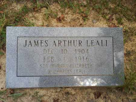 LEALI, JAMES ARTHUR - Dallas County, Arkansas | JAMES ARTHUR LEALI - Arkansas Gravestone Photos