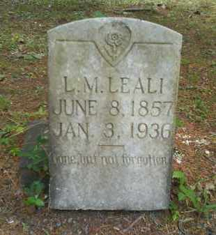 LEALI, LOUIS M - Dallas County, Arkansas | LOUIS M LEALI - Arkansas Gravestone Photos