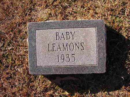 LEAMONS, BABY - Dallas County, Arkansas | BABY LEAMONS - Arkansas Gravestone Photos