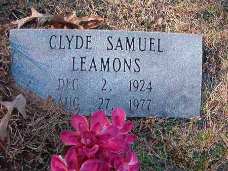 LEAMONS, CLYDE SAMUEL - Dallas County, Arkansas | CLYDE SAMUEL LEAMONS - Arkansas Gravestone Photos