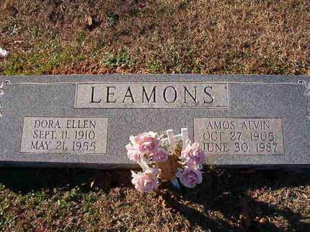 LEAMONS, AMOS ALVIN - Dallas County, Arkansas | AMOS ALVIN LEAMONS - Arkansas Gravestone Photos