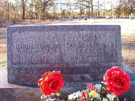 LEAMONS, DANIEL - Dallas County, Arkansas | DANIEL LEAMONS - Arkansas Gravestone Photos