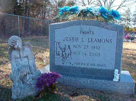 LEAMONS, JESSIE L - Dallas County, Arkansas | JESSIE L LEAMONS - Arkansas Gravestone Photos