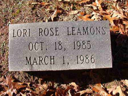 LEAMONS, LORI ROSE - Dallas County, Arkansas | LORI ROSE LEAMONS - Arkansas Gravestone Photos
