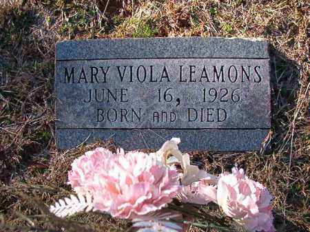 LEAMONS, MARY VIOLA - Dallas County, Arkansas | MARY VIOLA LEAMONS - Arkansas Gravestone Photos