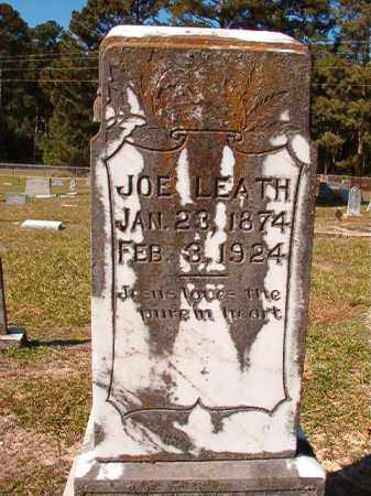 LEATH, JOE - Dallas County, Arkansas | JOE LEATH - Arkansas Gravestone Photos