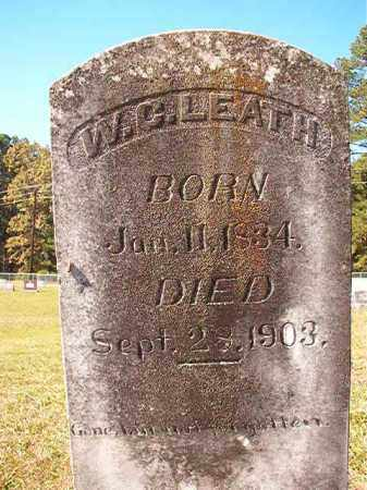 LEATH, W C - Dallas County, Arkansas | W C LEATH - Arkansas Gravestone Photos