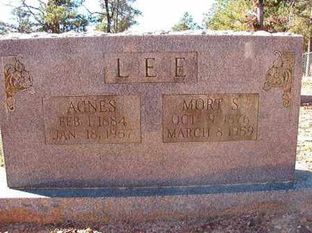 LEE, AGNES - Dallas County, Arkansas | AGNES LEE - Arkansas Gravestone Photos