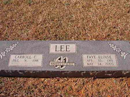 LEE, FAYE ELOISE - Dallas County, Arkansas | FAYE ELOISE LEE - Arkansas Gravestone Photos