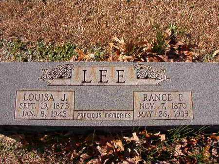 LEE, LOUISA J - Dallas County, Arkansas | LOUISA J LEE - Arkansas Gravestone Photos