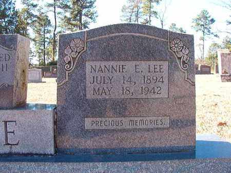 LEE, NANNIE E - Dallas County, Arkansas | NANNIE E LEE - Arkansas Gravestone Photos