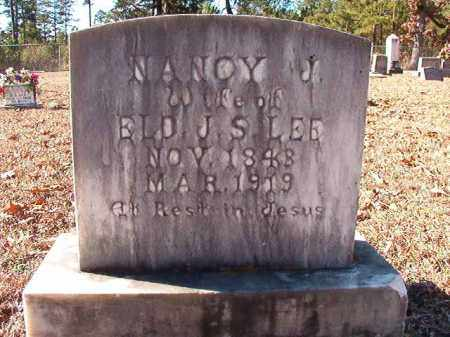 LEE, NANCY J - Dallas County, Arkansas | NANCY J LEE - Arkansas Gravestone Photos