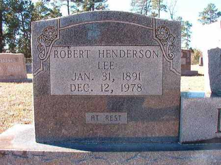 LEE, ROBERT HENDERSON - Dallas County, Arkansas | ROBERT HENDERSON LEE - Arkansas Gravestone Photos