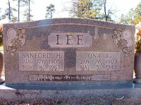 LEE, SANFORD H - Dallas County, Arkansas | SANFORD H LEE - Arkansas Gravestone Photos