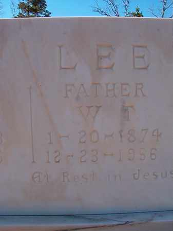 LEE, W T - Dallas County, Arkansas | W T LEE - Arkansas Gravestone Photos
