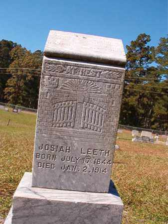 LEETH, JOSIAH - Dallas County, Arkansas | JOSIAH LEETH - Arkansas Gravestone Photos