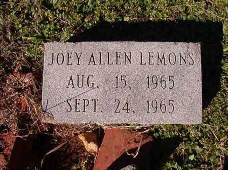 LEMONS, JOEY ALLEN - Dallas County, Arkansas | JOEY ALLEN LEMONS - Arkansas Gravestone Photos
