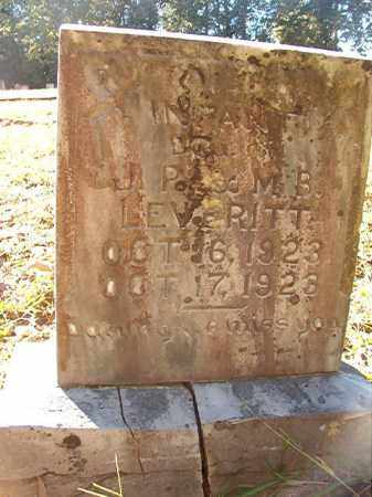 LEVERITT, INFANT DAUGHTER - Dallas County, Arkansas | INFANT DAUGHTER LEVERITT - Arkansas Gravestone Photos