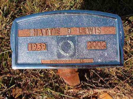 LEWIS, HATTIE B - Dallas County, Arkansas | HATTIE B LEWIS - Arkansas Gravestone Photos