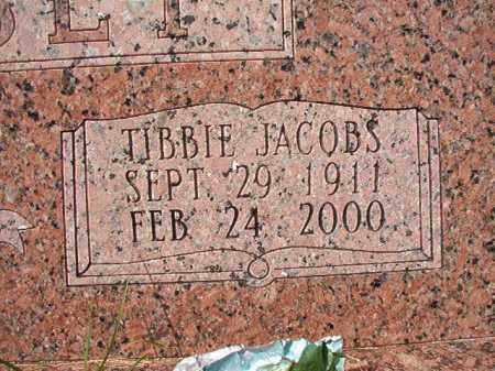 JACOBS LINDSEY, TIBBIE - Dallas County, Arkansas | TIBBIE JACOBS LINDSEY - Arkansas Gravestone Photos