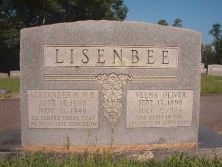 OLIVER LISENBEE, VELMA - Dallas County, Arkansas | VELMA OLIVER LISENBEE - Arkansas Gravestone Photos