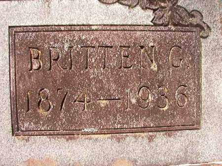 LIVINGSTON, BRITTEN G - Dallas County, Arkansas | BRITTEN G LIVINGSTON - Arkansas Gravestone Photos
