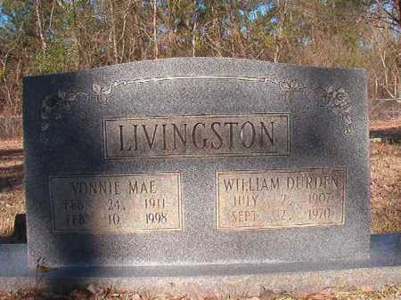 LIVINGSTON, WILLIAM DURDEN - Dallas County, Arkansas | WILLIAM DURDEN LIVINGSTON - Arkansas Gravestone Photos