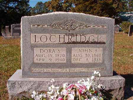 LOCHRIDGE, JOHN S - Dallas County, Arkansas | JOHN S LOCHRIDGE - Arkansas Gravestone Photos