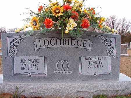 LOCHRIDGE, JON WAYNE - Dallas County, Arkansas | JON WAYNE LOCHRIDGE - Arkansas Gravestone Photos