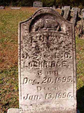 LOCHRIDGE, LUCY - Dallas County, Arkansas | LUCY LOCHRIDGE - Arkansas Gravestone Photos