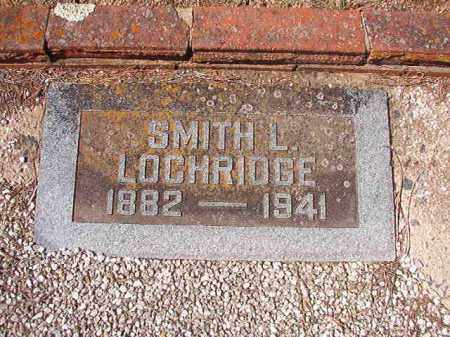 LOCHRIDGE, SMITH L - Dallas County, Arkansas | SMITH L LOCHRIDGE - Arkansas Gravestone Photos