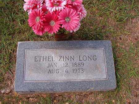 LONG, ETHEL - Dallas County, Arkansas | ETHEL LONG - Arkansas Gravestone Photos