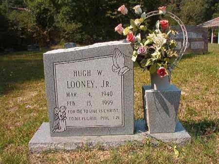 LOONEY, JR, HUGH W - Dallas County, Arkansas | HUGH W LOONEY, JR - Arkansas Gravestone Photos