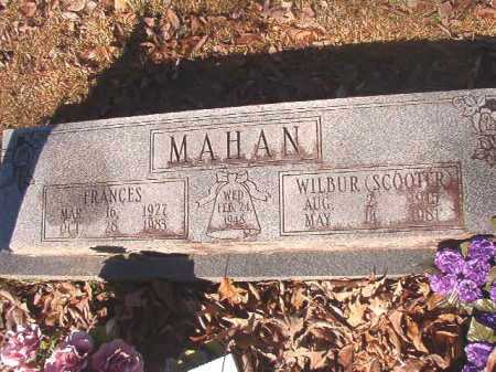 MAHAN, WILBUR (SCOOTER) - Dallas County, Arkansas | WILBUR (SCOOTER) MAHAN - Arkansas Gravestone Photos