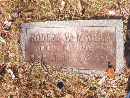 MAHAN, ROBERT W - Dallas County, Arkansas | ROBERT W MAHAN - Arkansas Gravestone Photos