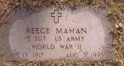 MAHAN (VETERAN WWII), REECE - Dallas County, Arkansas | REECE MAHAN (VETERAN WWII) - Arkansas Gravestone Photos