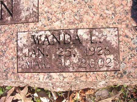 MAHAN, WANDA L - Dallas County, Arkansas | WANDA L MAHAN - Arkansas Gravestone Photos