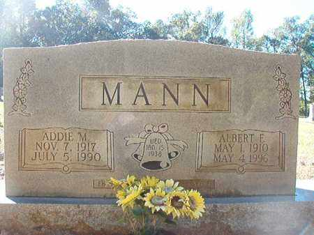 MANN, ADDIE M - Dallas County, Arkansas | ADDIE M MANN - Arkansas Gravestone Photos