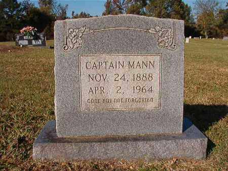 MANN, CAPTAIN - Dallas County, Arkansas | CAPTAIN MANN - Arkansas Gravestone Photos