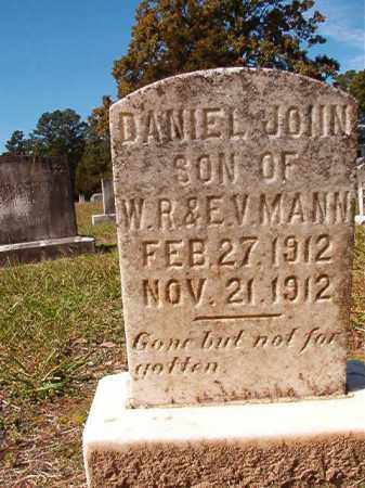 MANN, DANIEL JOHN - Dallas County, Arkansas | DANIEL JOHN MANN - Arkansas Gravestone Photos