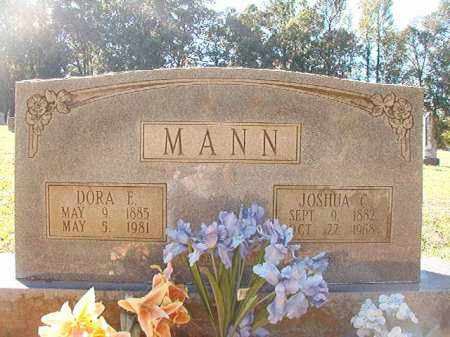 MANN, DORA E - Dallas County, Arkansas | DORA E MANN - Arkansas Gravestone Photos