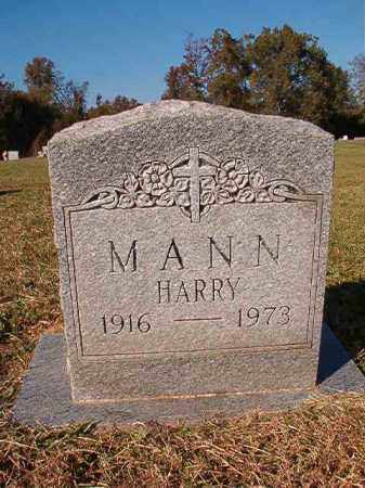 MANN, HARRY - Dallas County, Arkansas | HARRY MANN - Arkansas Gravestone Photos