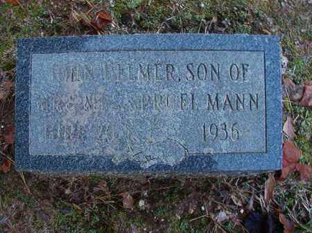 MANN, JOHN DELMER - Dallas County, Arkansas | JOHN DELMER MANN - Arkansas Gravestone Photos