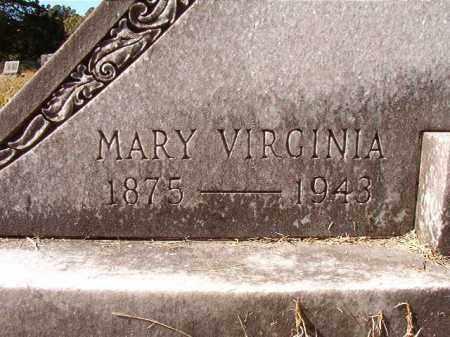 MANN, MARY VIRGINIA - Dallas County, Arkansas | MARY VIRGINIA MANN - Arkansas Gravestone Photos