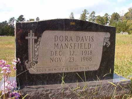 MANSFIELD, DORA - Dallas County, Arkansas | DORA MANSFIELD - Arkansas Gravestone Photos