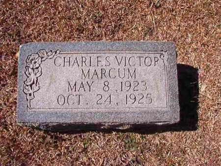 MARCUM, CHARLES VICTOR - Dallas County, Arkansas | CHARLES VICTOR MARCUM - Arkansas Gravestone Photos