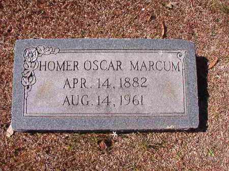 MARCUM, HOMER OSCAR - Dallas County, Arkansas | HOMER OSCAR MARCUM - Arkansas Gravestone Photos