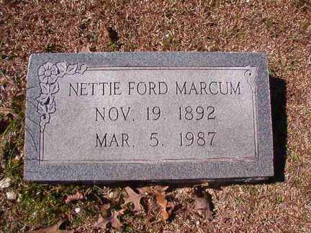 MARCUM, NETTIE - Dallas County, Arkansas | NETTIE MARCUM - Arkansas Gravestone Photos