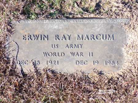 MARCUM (VETERAN WWII), ERWIN RAY - Dallas County, Arkansas | ERWIN RAY MARCUM (VETERAN WWII) - Arkansas Gravestone Photos